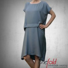 rochie_lejera_de_vara Dresses For Work, Sewing, Handmade, How To Wear, Fashion Design, Dressmaking, Hand Made, Couture, Fabric Sewing