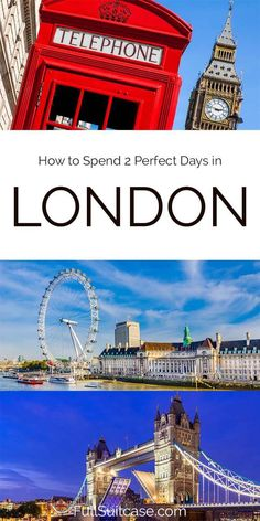 2 Days in London: Perfect Itinerary, Map & Insider Tips Best Places In Europe, Cool Places To Visit, London In 2 Days, Horse Guards Parade, Europe Bucket List, Tower Of London, Best Hikes, Short Trip, London Travel
