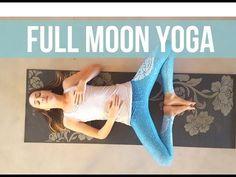 ✦ ☾ Full Moon Yoga ☽ ✦ - Moon Salutations Slow Flow {40 min} - YouTube