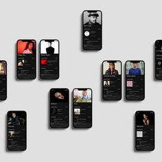 Beatport on Behance Interactive Design, Graphic Design Inspiration, Business Design, Identity, Branding Design, Digital, Phone, Behance, Design Case