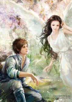 PleaseComeDownLikeAnAngel by phoenixlu.deviantart.com on @deviantART