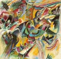 kandinsky - ravijn  Love the way the patterns sweep over my mind..