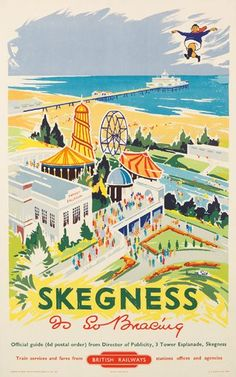 Skeg Vagas  ~ Skegness, not the most glamorous of destinations but me and the boys have a fantastic week with my mum!