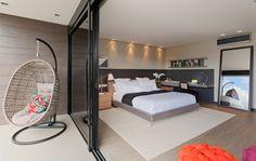 quarto grande e arejado