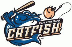 Columbus Catfish (A-, South Atlantic League) Team Mascots, Baseball Mascots, Minor League Baseball, Major League, Helmet Logo, Mascot Design, Photography Logo Design, Great Logos, Animal Logo