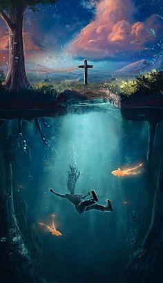 Esto es una porquería!!!!! Nos vsmos al cielo cuando mirímos....y esto que nos ahogamos es una tonteraa !!!! Dios lleva nuestra alma a el cielo....el cuerpo queda de recuerdo...
