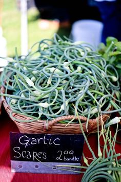 Garlic Scapes—There's no Escaping How Good These Are!