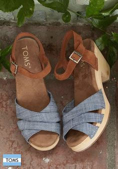New opportunities to make an impact. Meet TOMS new clogs.