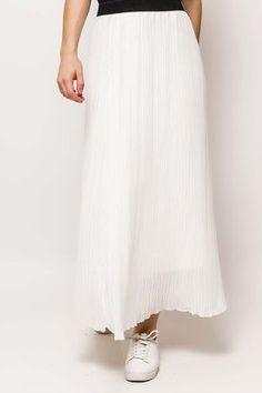 Dámska biela maxi plisovaná sukňa White Dress, Skirts, Dresses, Fashion, Vestidos, Moda, Fashion Styles, Skirt
