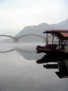 Kintai bridge in Iwakuni, Yamaguchi, Japan,  exquisite photo by _______ (looking for info)