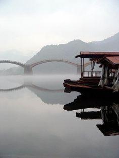 Kintai bridge in Iwakuni, Yamaguchi, Japan
