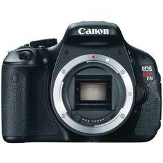 Canon EOS Rebel T3i 18 MP CMOS APS-C Sensor DIGIC 4 Image Processor Full-HD Movie Mode Digital SLR Camera with 3.0-Inch Cl... $624.95