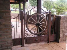 Wrought Iron Courtyard Gates