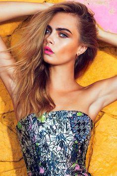 Cara Delevingne for Vogue Brazil
