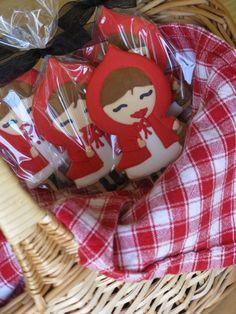 Biscoito Chapeuzinho Vermelho