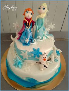 Frozen Cake by 6eki.deviantart.com on @DeviantArt