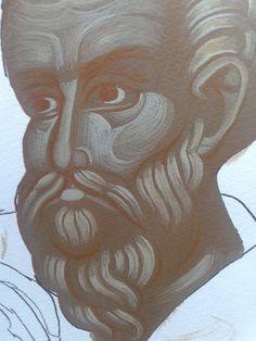 Γλυκασμός και προπλασμός ΜΙΣΟ ΜΙΣΟ Byzantine Icons, Nursing, Egypt, Cartoons, Tutorials, Medical, Drawings, Face, Cartoon