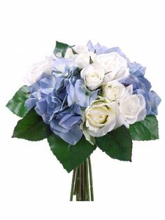 Blue Cream Hydrangea Bouquet FBQ030-BL/CR