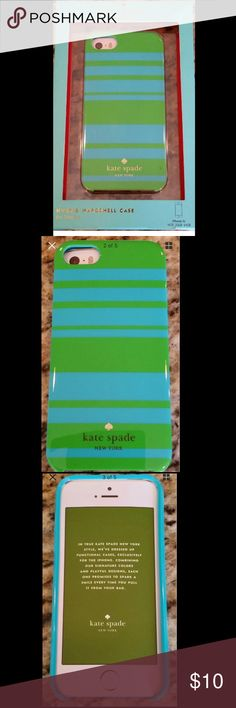 Kate Spade New York IPhone 5s Case♠️ Authentic like new. Case included, but ripped. kate spade Accessories Phone Cases