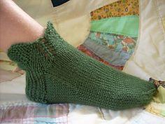 Ravelry: Arwen Slipper Socks pattern by Tabitha's Heart