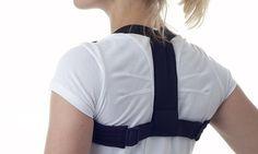 Ce support unisexe en coton maintient les épaules vers l'arrière afin…