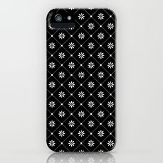 Big Black Mosaic flowers iPhone Case by laurafrere Mosaic Flowers, Big Black, Graphic, Illustration, Iphone Cases, Patterns, Stuff To Buy, Pattern, Drawing Drawing