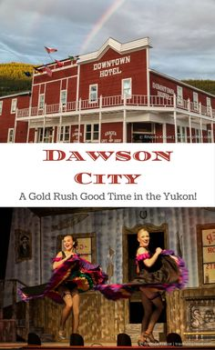 Dawson City is a quirky northern town in the Yukon that will transport you back to the most exciting time in Canada's history- the Klondike Gold Rush. Usa Travel Guide, Travel Usa, Travel Guides, Travel Tips, Travel Destinations, Travel Info, Alberta Canada, Quebec, Toronto