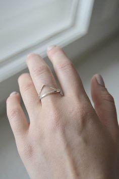Ringe - Silver Ring - ein Designerstück von whtwntr bei DaWanda