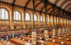 Bibliothèque Sainte Geneviève, Paris, France