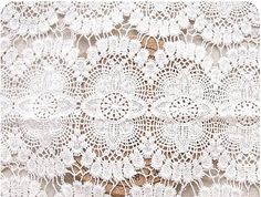 Cotton Lace Fabrics Embroidered Flowers Hollowed Out Florals Wedding Bridal Lace Fabrics Supplies Retro Grace $35