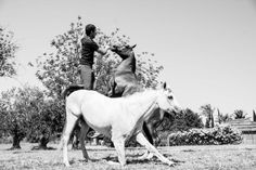 One such person is Santi Serra, who has taken his natural raw passion and deep connection with his horses and other animals to another Ibiza Fashion, Camps, Horses, Style, Animales, Swag, Horse, Outfits