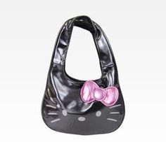 Hello Kitty Charcoal Handbag: Star