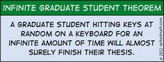 Infinite Graduate Student Theorem