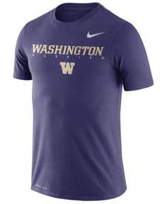 Nike Men's Washington Huskies Facility T-Shirt - Orchid