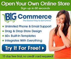 Bigcommerce -Create Your Online Store In Seconds