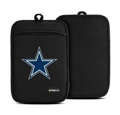 NFL Dallas Cowboys Neoprene Sleeve for e-Reader, Medium by Tribeca. $4.99. Safeguard your e-reader and show your Dallas Cowboys team spirit with this protective sleeve from Tribeca. Constructed of durable, slim neoprene (the wetsuit material) in worry-free black, it absorbs shocks and protects your device from damage without adding bulk. Get your game on with the official National Football League team logo of the Dallas Cowboys screen-printed on the front in vivid color! Sleeve m...