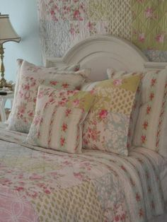 Shabby Chic Bedroom  on We Heart It