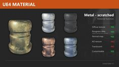 materials unreal engine 4