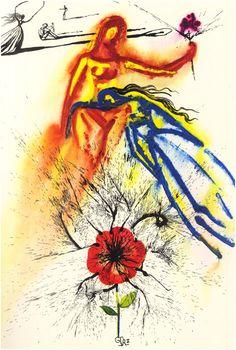 Dalí - Alice in Wonderland series.