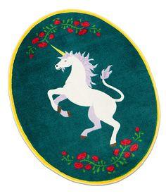 ThinkGeek :: Magical Unicorn Rug