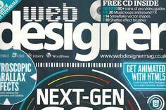 Web Designer Magazine Features my Portfolio