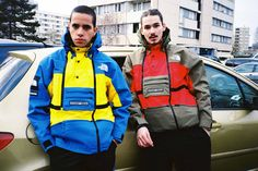 Supreme x The North Face 2016 Spring/Summer Collection: Streetwear meets ski apparel. Supreme, The North Face, Winter Typ, Fashion Updates, Models, North Face Jacket, Hypebeast, Summer Collection, Streetwear Brands