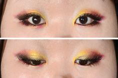 Chinese New Year Avant Garde Makeup Look