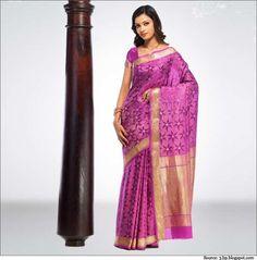 Mysore Silk is synonymous with splendor and grandeur. #mysoresilksaree #sarees #southindiansarees
