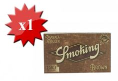 Papier à rouler Smoking Brown Régular x 1