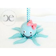 octopus cake pop