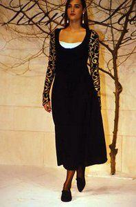 Karl Lagerfeld Runway Show FW 1988 Yasmin Le Bon