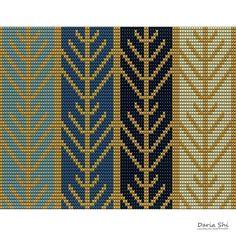 Tapestry Crochet Patterns, Bead Loom Patterns, Crochet Stitches Patterns, Crochet Chart, Beading Patterns, Cross Stitch Patterns, Knitting Patterns, Boho Tapestry, Tapestry Bag