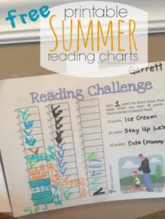 Keep kids learning this summer with these FREE Summer Reading Charts | Faithful Provisions