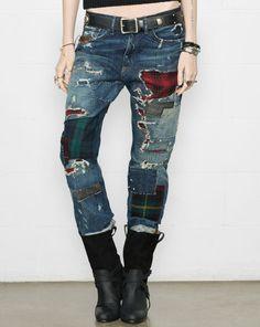 I Need These!  Ellery Boyfriend Jean - Denim & Supply  Straight-Leg - RalphLauren.com